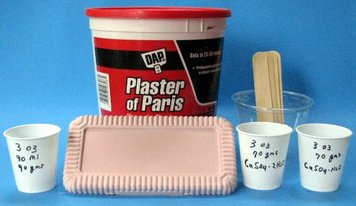 Plaster of Paris Mixing Guide    - Observations